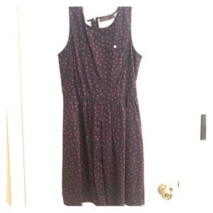 The Limited - polka dot dress with pockets